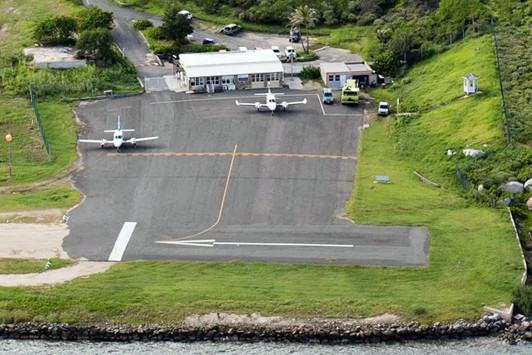 Taddy Bay Airport, Virgin Gorda