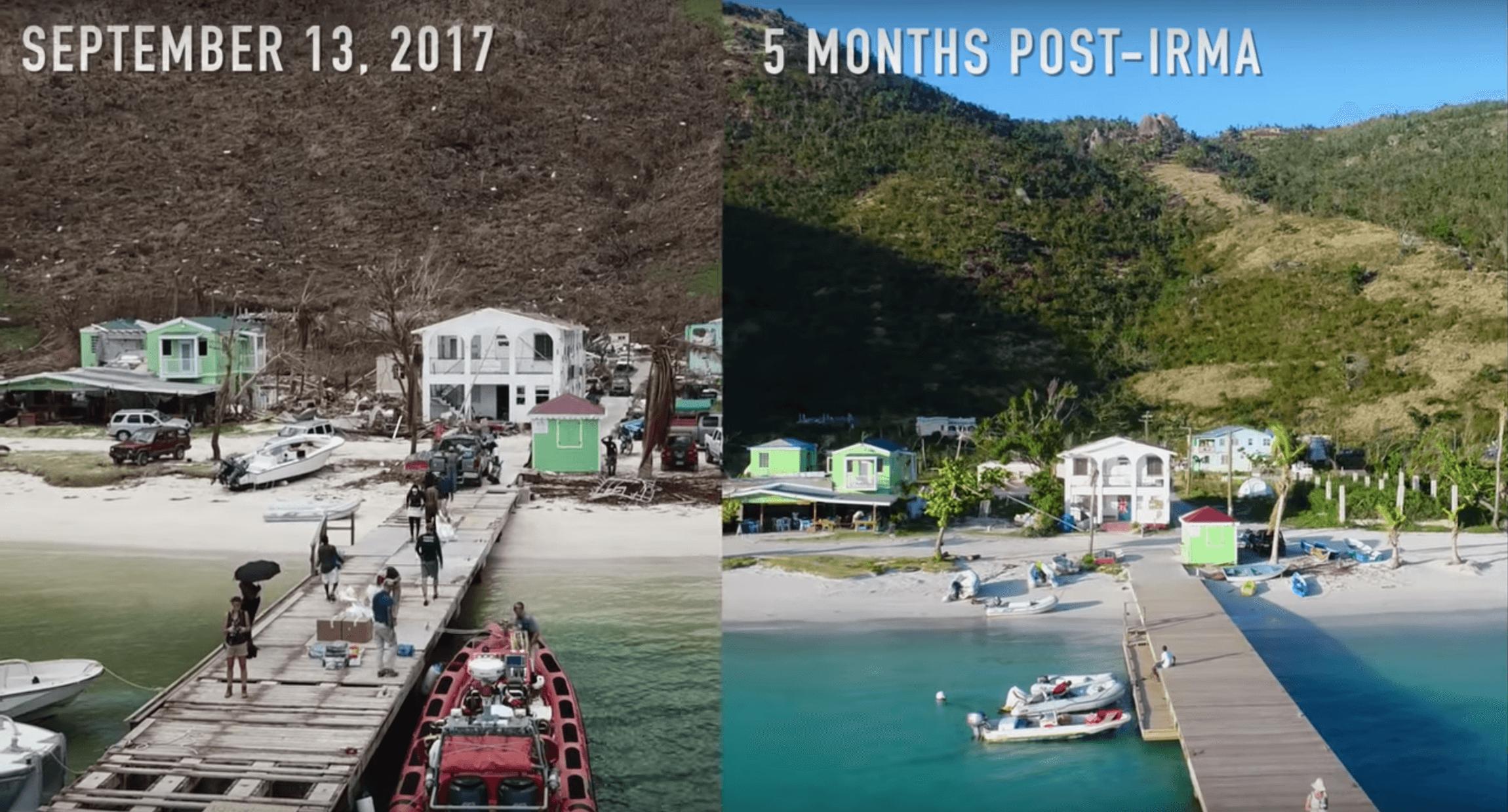 Post Irma Comparison