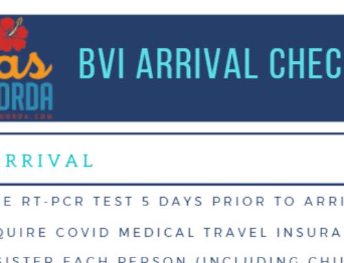 BVI Arrival Checklist